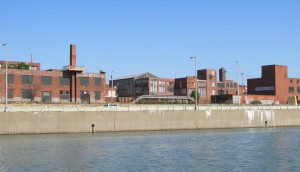 View of Black Rock Canal-Belt Line-Niagara Street Industrial Heritage District from Black Rock Canal.